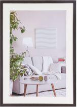 Henzo Modern - Fotolijst - 50x70 cm - Fotoformaat 50x70 / 40x60 cm - Donker Bruin