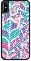 iPhone Xs Hardcase hoesje Design Feathers