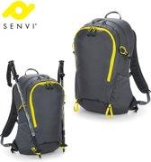 Senvi Sports - SLX Ultra Licht Sport Rugzak - Kleur Grijs/Geel - SVQX325