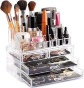 AWEMOZ® Opbergbox - Beauty Make-Up Organizer - Opbergladen & Rekje - 20 Opbergvakken