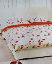 Libelle St. Tropez Dekbedovertrek - Eenpersoons - 140x200/220 cm - Oranje