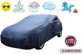 Autohoes Blauw Polyester Fiat 500X 2015-