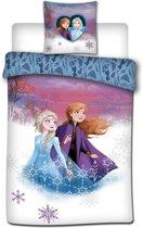 Disney Frozen 2 - Dekbedovertrek - Eenpersoons - 140 x 200 cm - Polyester