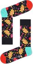 Happy Socks Sokken We Will Rock You Socks Queen Zwart Maat:41-46