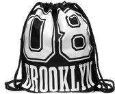 Zumprema Brooklyn - Gymtas - Zwart/Wit