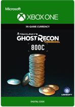 Tom Clancy's Ghost Recon: Wildlands Currency pack 800 GR credits - Xbox One