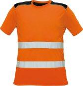 Knoxfield T-shirt HV fluor oranje, maat L - EN471