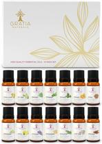 Etherische olie 100% puur natuur - 14 soorten essentiële olien - voor aromatherapie massage - ook voor uw diffuser
