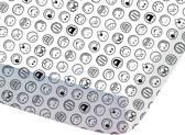 Smiley Pyramid - Hoeslaken - Eenpersoons - 90 x 190/200 cm - Multi