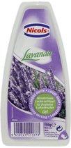 Nicols Luchtverfrisser Gel Lavendel 150gr