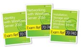MCSA Windows Server 2016 Exam Ref 3-Pack