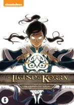 DVD cover van Avatar: De Legende van Korra - De Complete Collectie (2018)