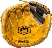Franklin honkbalhandschoen linkshandig junior bruin 10 inch