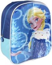 Disney Frozen Rugzak met Schrijfgedeelte + 2 Markers 25x31x10 cm Blauw