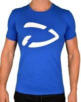 Fitness T-Shirt AKF   Blauw (M) - Disciplined Sports