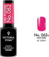 Gellak Victoria Vynn™ Gel Nagellak - Salon Gel Polish Color 062 - 8 ml. - Hot Pink