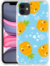 Apple iPhone 11 Hoesje Love Ananas