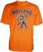 T-shirt Holland met zwarte leeuw Xl