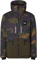 O'Neill Textured Jacket Heren Ski jas - Green Aop