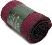 Yogahanddoek »Chandra« met siliconen noppen / Anti-Slip Premium Yoga towel/ 183 x 62 cm / Ideaal voor hot yoga / huidvriendelijk, antislip, absorberend, sneldrogend en zacht. In verschillende kleuren verkrijgbaar.