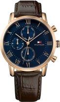 Tommy Hilfiger TH1791399 horloge heren - bruin - edelstaal PVD ros�
