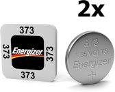2 Stuks - Energizer 373 1.55V knoopcel batterij
