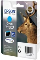 EPSON T1302 inktcartridge cyaan extra high capacity 10.1ml 1-pack RF-AM blister DURABrite Ultra Ink