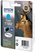 EPSON T1302 inktcartridge cyaan extra high capacity 10.1ml 1-pack RF-AM blister DURABrite Ultra Ink