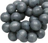 Houten Kralen Vintage Look (8 mm) Grey Blue (208 stuks)