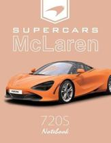 Supercars McLaren 720s Notebook