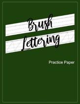 Brush Lettering Practice Paper