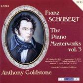 Schubert: Piano Masterworks, Vol. 3