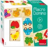Goula Houten Domino Macro - 28 Stuks