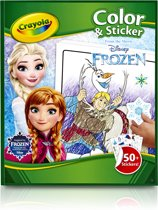 Crayola Frozen Kleurboek met stickers