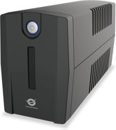 Conceptronic ZEUS01ES UPS Line-Interactive 650 VA 360 W 2 AC-uitgang(en)