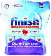 Finish Quantum Max Power & Pure - 60 Vaatwastabletten