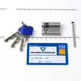 Winkhaus Cilinder enkel buiten x binnen 0/30mm voorzien van SKG ***, met certificaat en 3 sleutels
