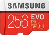 Samsung Evo plus Micro SD 256GB - met adapter