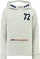 Garcia Jongens hoodie - grey melee - Maat 140/146