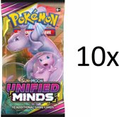 Pokemon - 10x Unified Minds Booster Box pakje - Pokémon kaarten