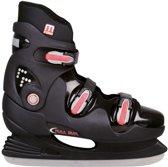 Nijdam 3353 Ijshockeyschaats - Semi-Softboot - Maat 38 - Zwart/Blauw