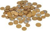 Speelgoed euro munten 100 stuks