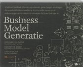 Boekomslag van 'Business Model Generatie'