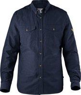 Fjallraven Ovik Lite Shirt LS - heren - blouse lange mouwen - maat XXL - blauw