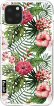 Casetastic Smartphone Hoesje Softcover Apple iPhone 11 Pro Max - Tropical Flowers