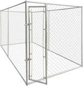 vidaXL Hondenkennel voor buiten 4x2 m