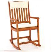 Schommelstoel Acaciahout, tuinstoel, relaxstoel