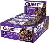 Quest Nutrition Quest Bars - Eiwitreep - 1 box (12 eiwitrepen) - Double Chocolate Chunk