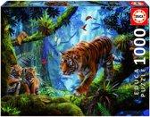 Educa Tijgers in de bomen legpuzzel 1000 stukjes