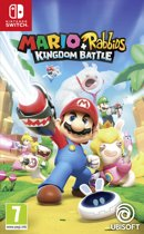 Cover van de game Mario + Rabbids Kingdom Battle - Switch